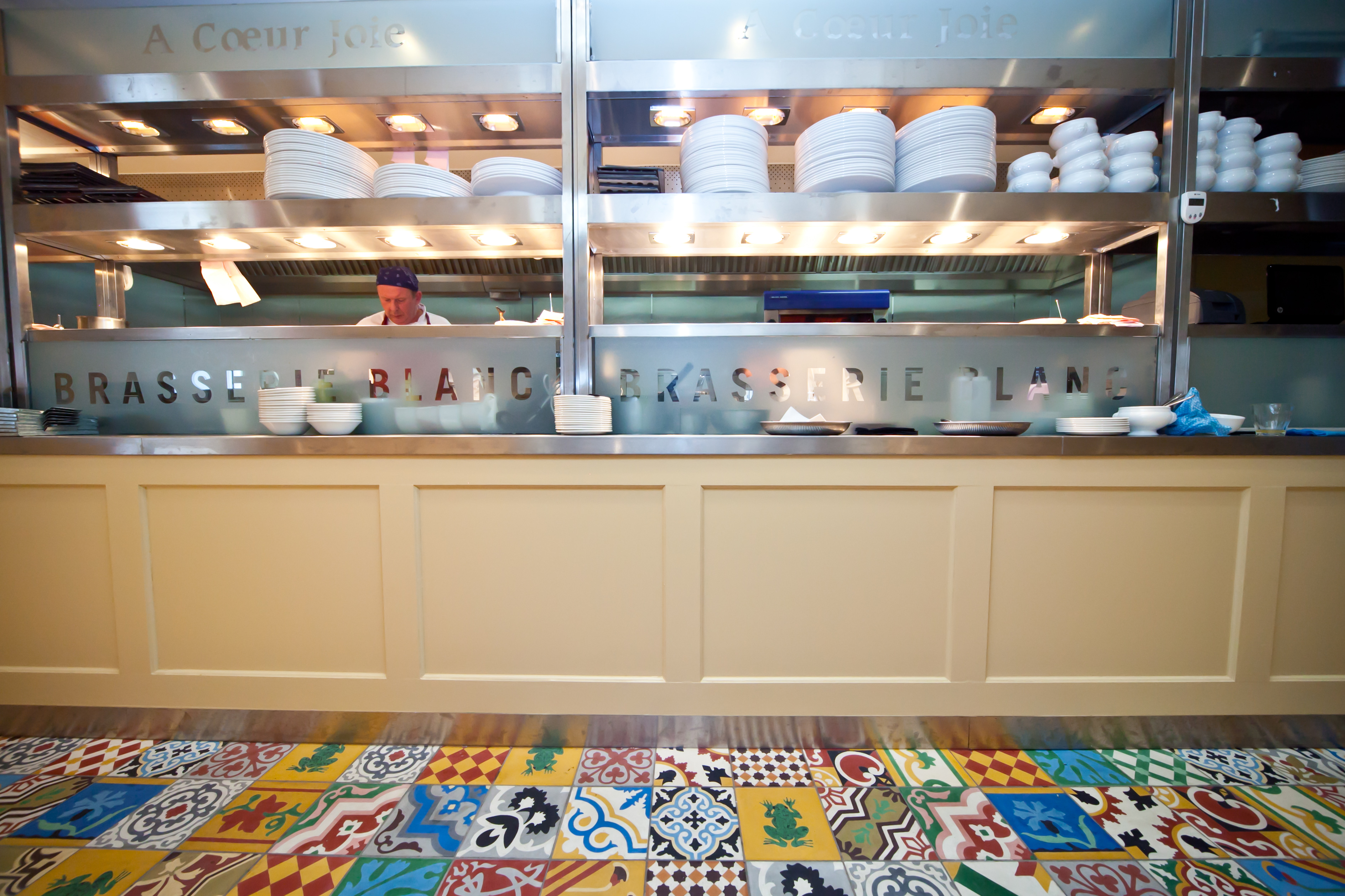 bespoke fabrication and food servery counters